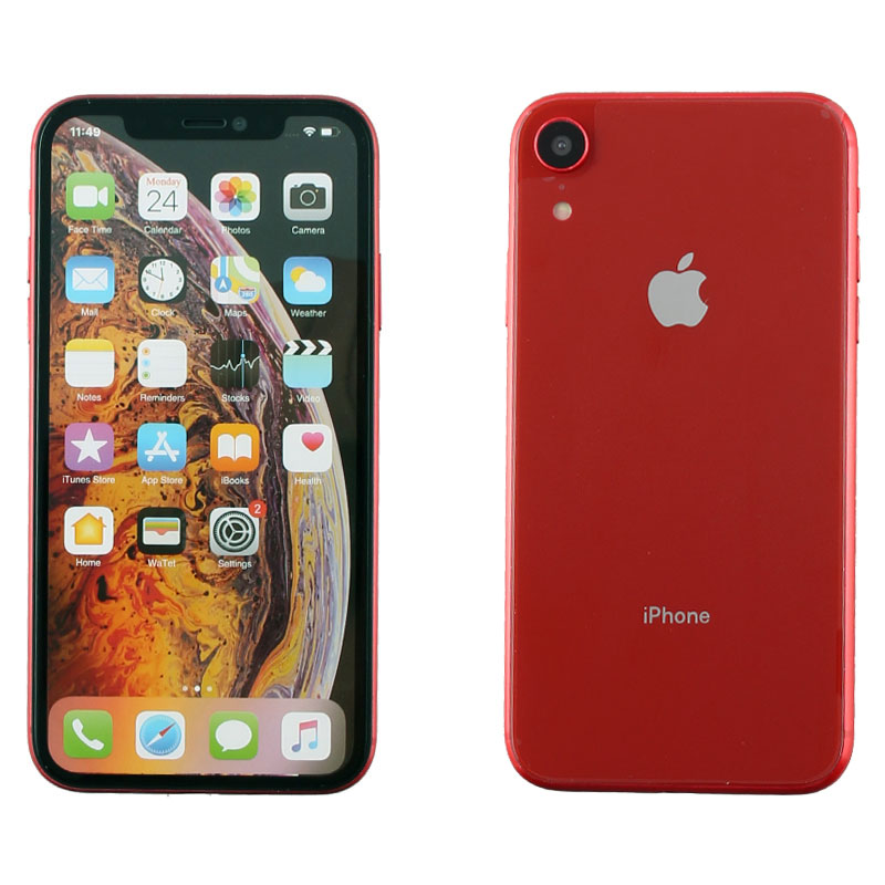 """DUMMIES IPHONE XR 6.1"""" PLASTIC BATTERY COVER RED"""