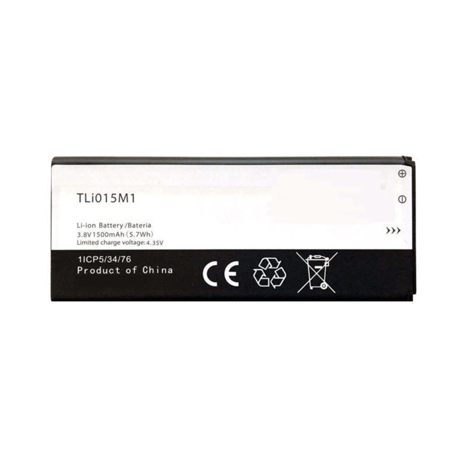 ΜΠΑΤΑΡΙΑ ALCATEL TLi015M1 ALCATEL 4034 1500mAh BULK OR