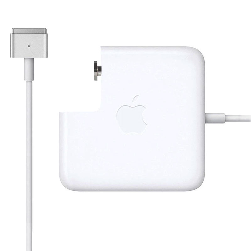 TRAVEL USB POWER ADAPTER APPLE MAGSAFE MD506Z/A A1424 4250mA  85W WHITE BULK OR