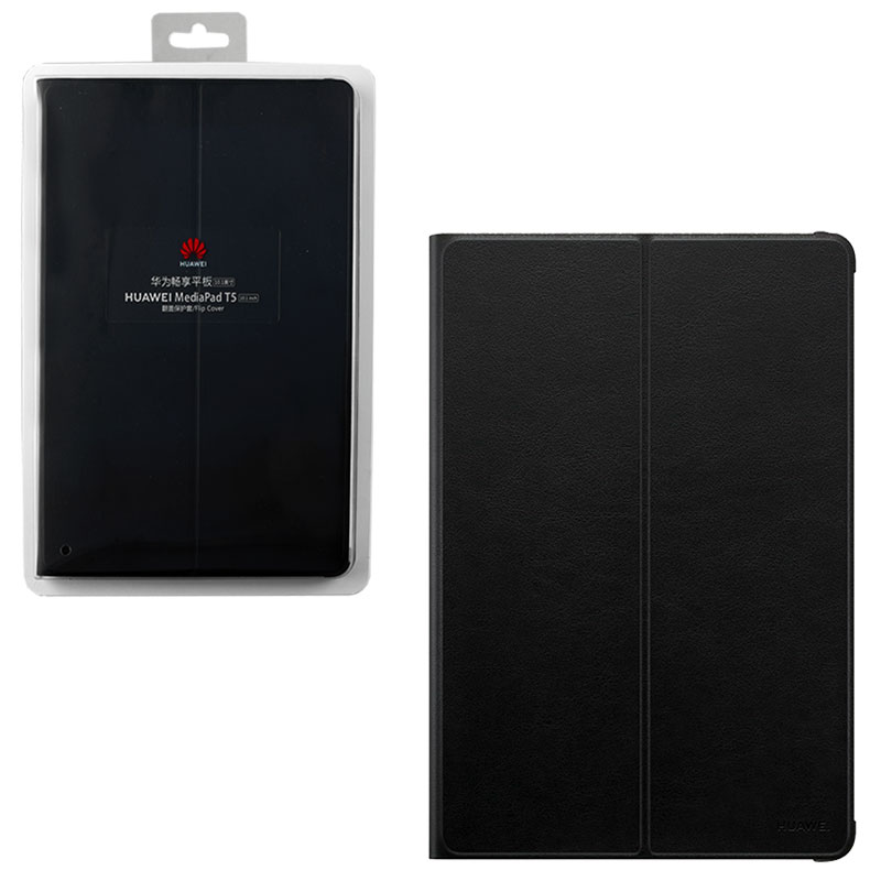 "ΘΗΚΗ HUAWEI MEDIAPAD T5 10.1"" FLIP COVER 51992662 BLACK PACKING OR"