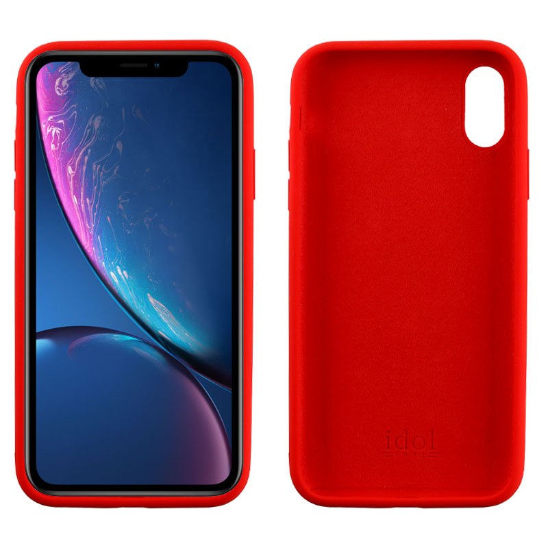"IDOL 1991 ΘΗΚΗ IPHONE XR 6.1"" VELVET TPU 4 SIDE RED"