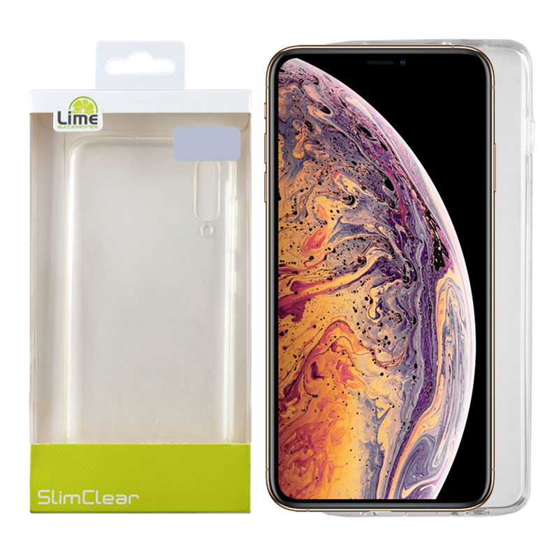 "LIME ΘΗΚΗ IPHONE XS/X 5.8"" SLIMCLEAR TPU ΔΙΑΦΑΝΗ"