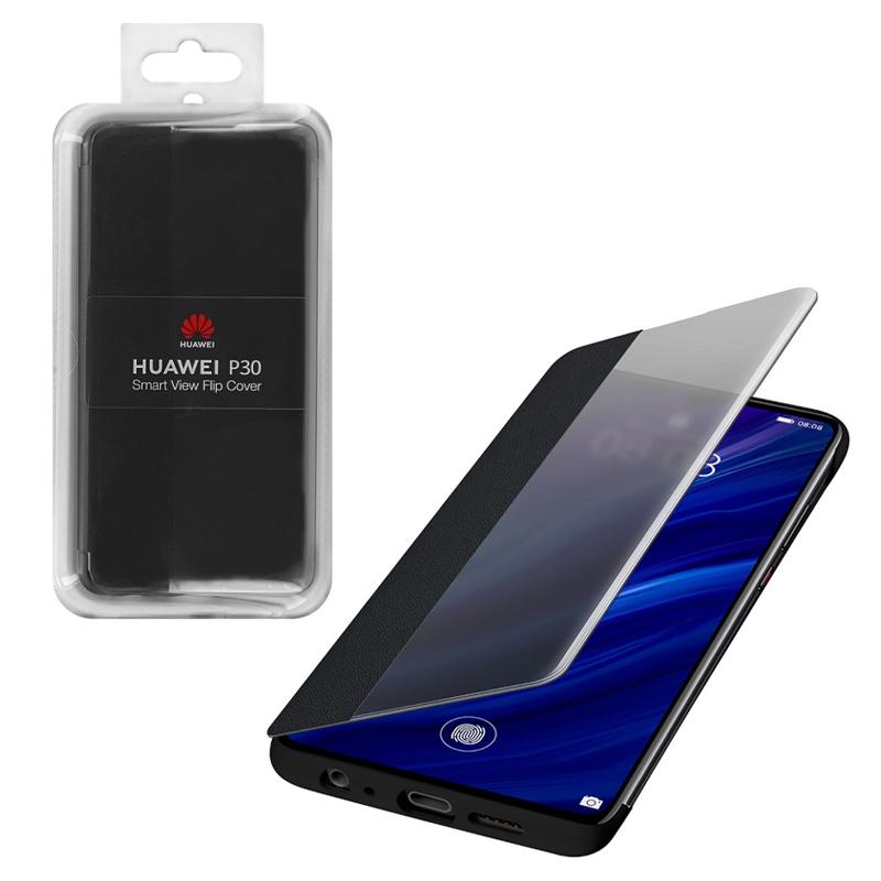 ΘΗΚΗ HUAWEI P30 SMART VIEW FLIP COVER 51992860 BLACK PACKING OR