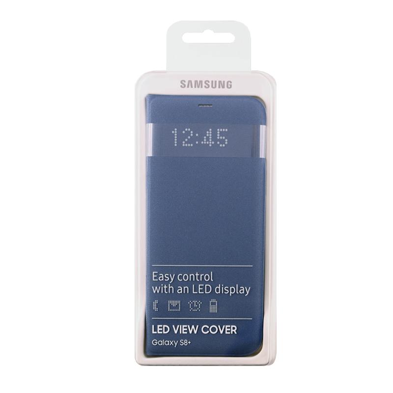 ΘΗΚΗ SAMSUNG S8 PLUS G955 LED VIEW COVER EF-NG955PLEGWW BLUE PACKING OR