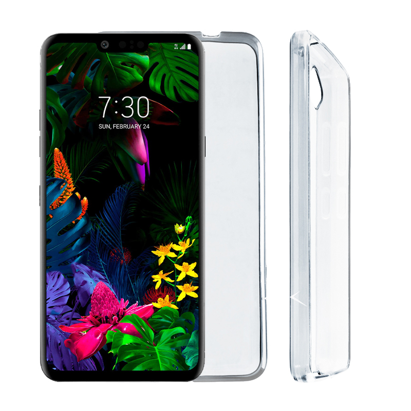 "VOLTE-TEL ΘΗΚΗ LG G8S THINQ 6.21"" SLIMCOLOR AIR TPU ΔΙΑΦΑΝΗ"