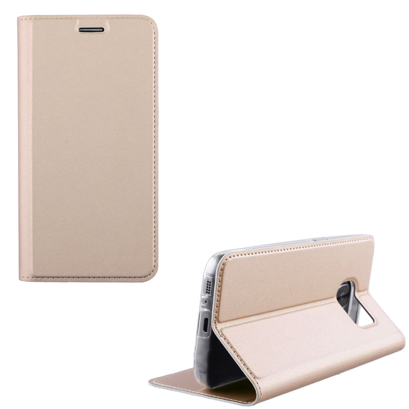 """IDOL 1991 ΘΗΚΗ HUAWEI Y5 2019/HONOR 8S 5.71"""" PRIME MAGNET BOOK STAND GOLD"""