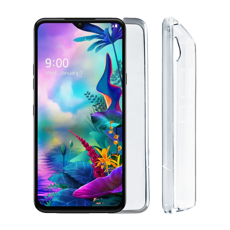 "VOLTE-TEL ΘΗΚΗ LG G8X THINQ 6.4"" SLIMCOLOR AIR TPU ΔΙΑΦΑΝΗ"