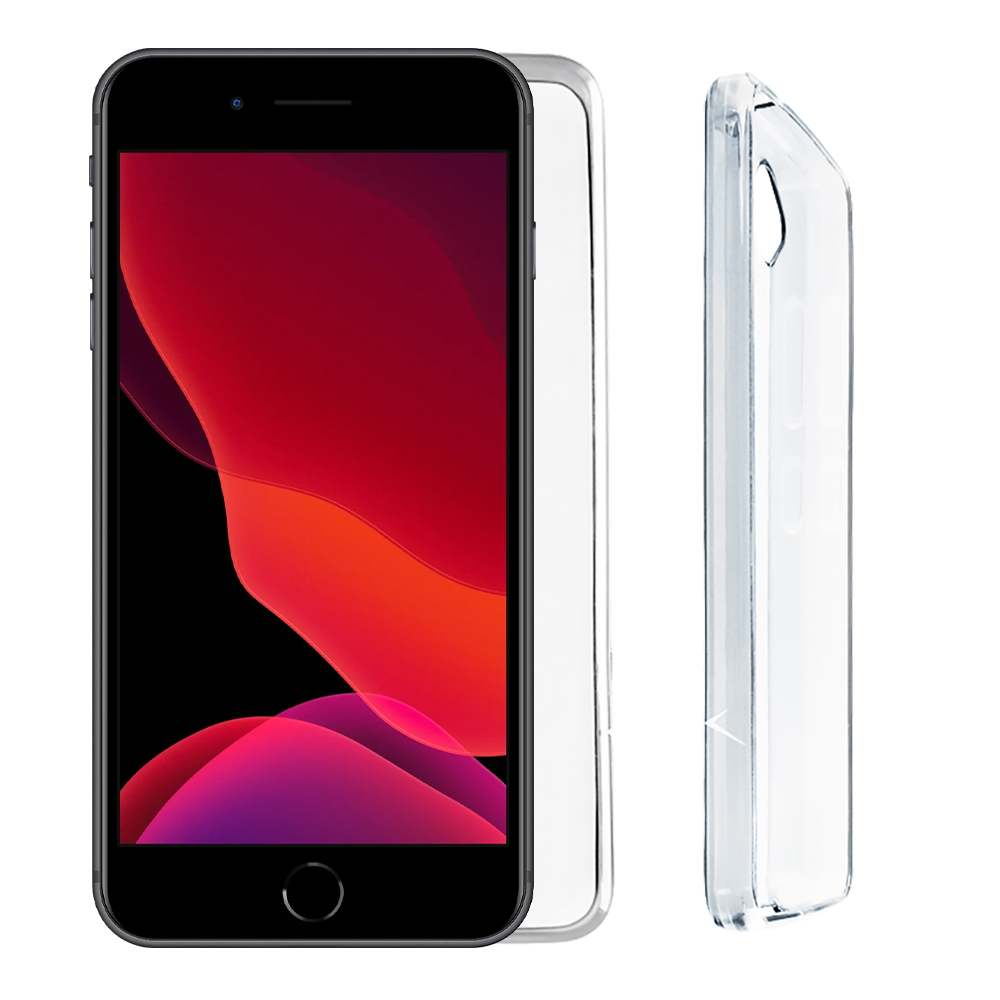 "VOLTE-TEL ΘΗΚΗ IPHONE 8 PLUS/7 PLUS 5.5"" SLIMCOLOR AIR TPU CAMERA GUARD ΔΙΑΦΑΝΗ"