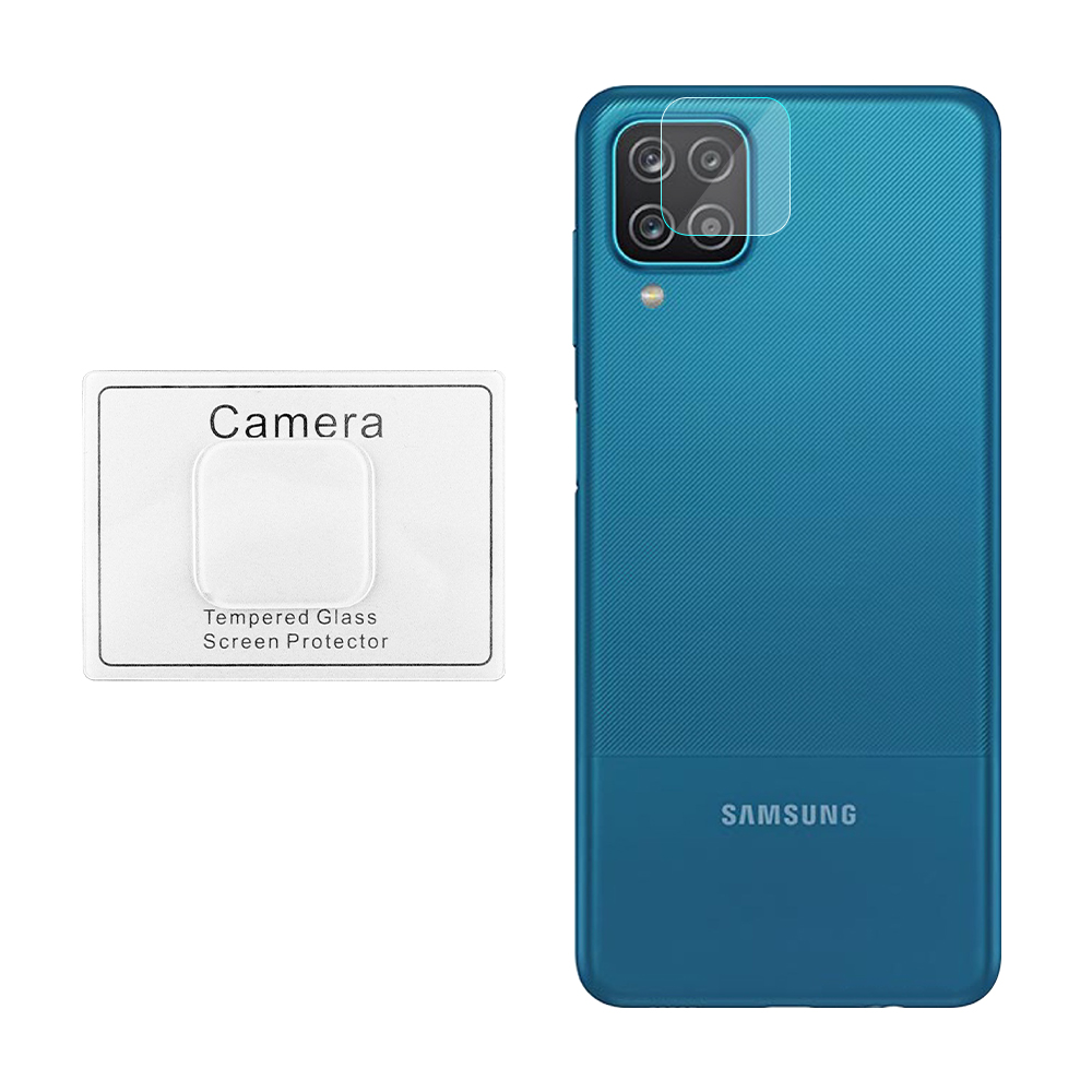 """VOLTE-TEL TEMPERED GLASS SAMSUNG A12 A125 6.5"""" 9H 0.30mm FOR CAMERA"""