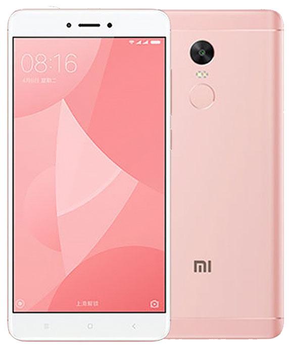 Xiaomi Redmi Note 4X (Snapdragon) 32GB Dual Pink (Ελληνικό Μενού) (Δώρο Tempered Glass + Θήκη) Πληρωμή έως 12 δόσεις