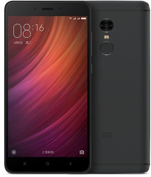 Xiaomi Redmi Note 4 High Edition (MediaTek) 64GB Dual Black (Ελληνικό Μενού) (Δώρο Tempered Glass + Θήκη)