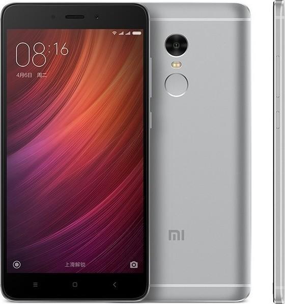 Xiaomi Redmi Note 4 (Snapdragon) 64GB Dual Grey (Ελληνικό Μενού) (Δώρο Tempered Glass + Θήκη)