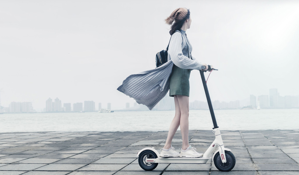 Xiaomi MiJia Electric Scooter M365 White Πληρωμή έως 24 δόσεις
