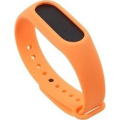 Xiaomi Mi Band 2 Μπρασελέ Σιλικόνης OEM Orange
