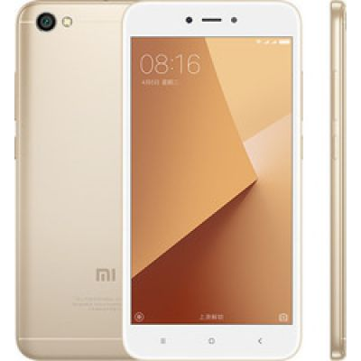 Xiaomi Redmi Note 5a Standard 16GB Dual Gold (Ελληνικό Μενού) (Δώρο Tempered Glass)