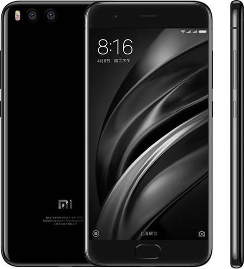 Xiaomi Mi 6 128GB Dual Black (Ελληνικό Μενού) (Δώρο Tempered Glass + Θήκη) Πληρωμή έως 12 δόσεις