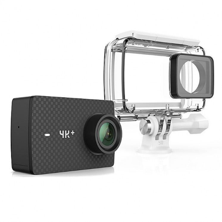 Yi Technology 4K Action Camera + & Waterproof Case