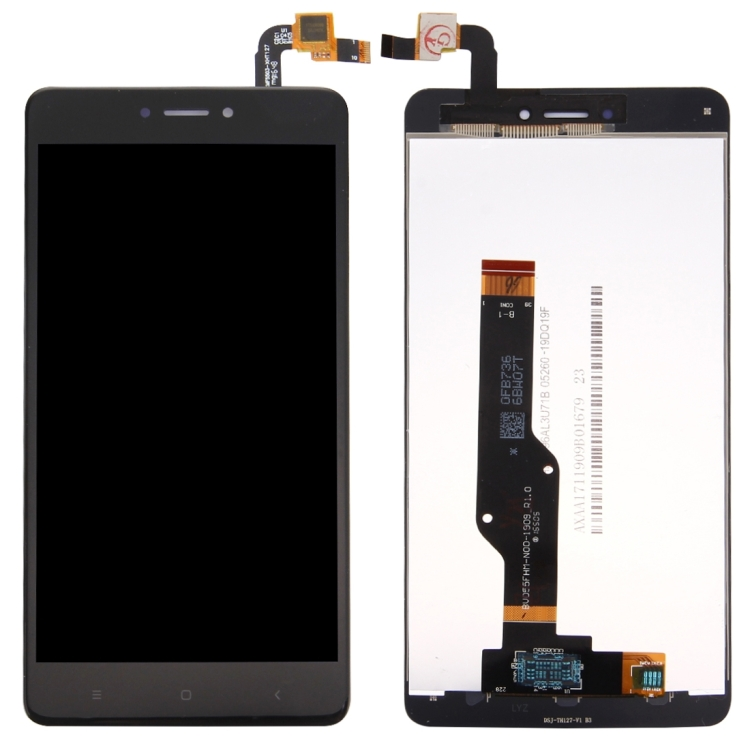 iPartsBuy Οθόνη LCD Screen + Touch Screen Digitizer Assembly Για Xiaomi Redmi Note 4/4x Global Version Black (Δώρο Tempered Glass)