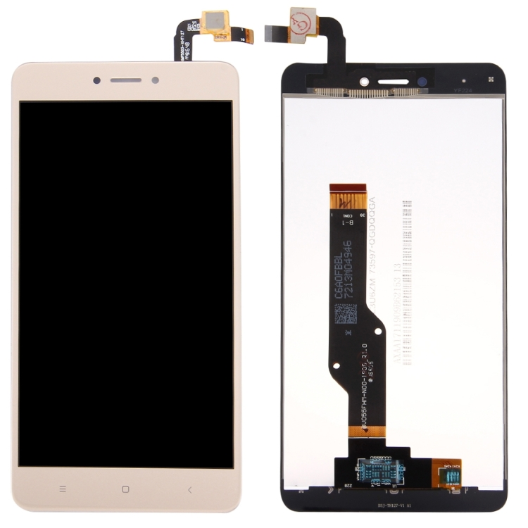 iPartsBuy Οθόνη LCD Screen + Touch Screen Digitizer Assembly Για Xiaomi Redmi Note 4/4x Global Version Gold (Δώρο Tempered Glass)
