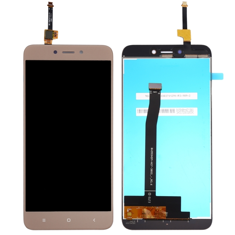 iPartsBuy Οθόνη LCD Screen + Touch Screen Digitizer Assembly Για Xiaomi Redmi 4x Gold (Δώρο Tempered Glass)