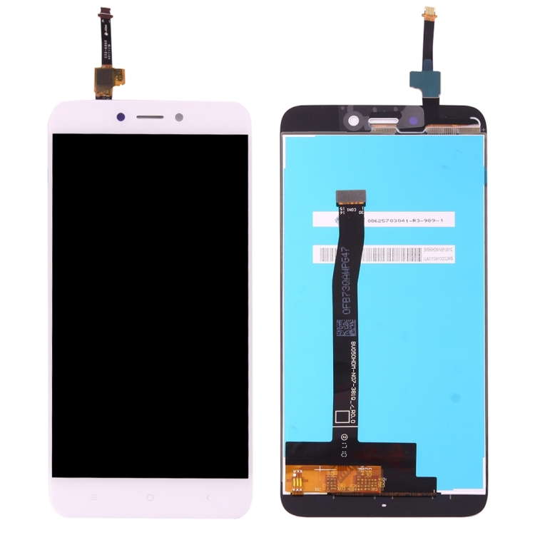 iPartsBuy Οθόνη LCD Screen + Touch Screen Digitizer Assembly Για Xiaomi Redmi 4x White (Δώρο Tempered Glass)