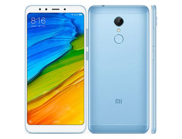 Xiaomi Redmi 5 Plus 32GB Dual Blue (Ελληνικό Μενού - Global Version) (Δώρο Θήκη) Πληρωμή έως 12 δόσεις