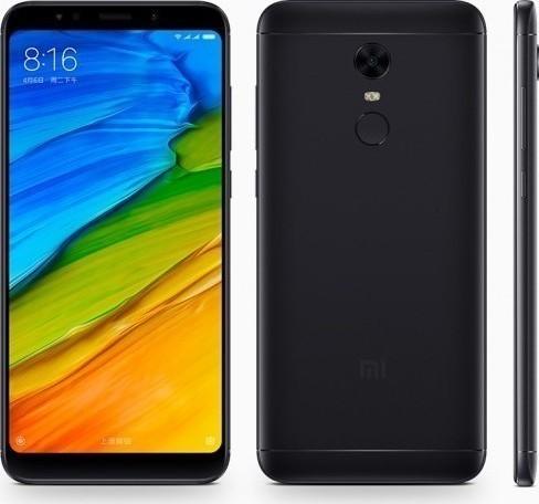 Xiaomi Redmi 5 Plus 64GB Dual Black (Ελληνικό Μενού) (Δώρο Θήκη) Πληρωμή έως 12 δόσεις