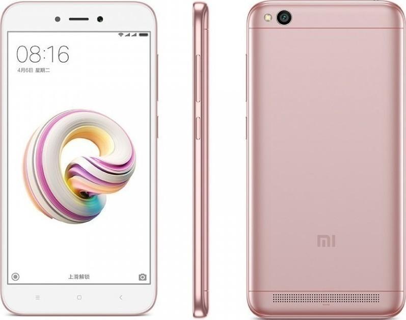 Xiaomi Redmi 5a 16GB Dual Pink (Ελληνικό Μενού - Global Version) (Δώρο Tempered Glass + Θήκη) Πληρωμή έως 12 δόσεις