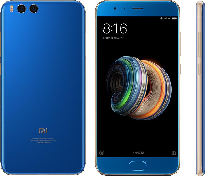 Xiaomi Mi Note 3 128GB Dual Blue (Ελληνικό Μενού) (Δώρο Tempered Glass + Original Θήκη) Πληρωμή έως 12 δόσεις