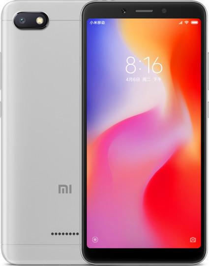 Xiaomi Redmi 6A 32GB 3GB Dual Grey (Ελληνικό Μενού - Global Version) Πληρωμή έως 12 δόσεις
