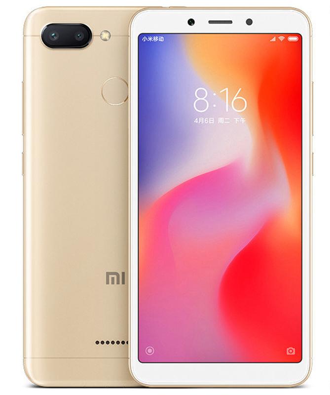 Xiaomi Redmi 6 64GB Dual Gold (Ελληνικό Μενού - Global Version) (Δώρο Tempered Glass + Θήκη) Πληρωμή έως 24 δόσεις