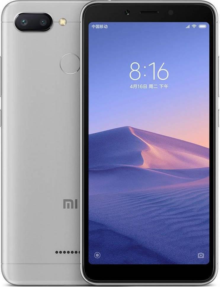Xiaomi Redmi 6 64GB Dual Grey Πληρωμή έως 12 δόσεις
