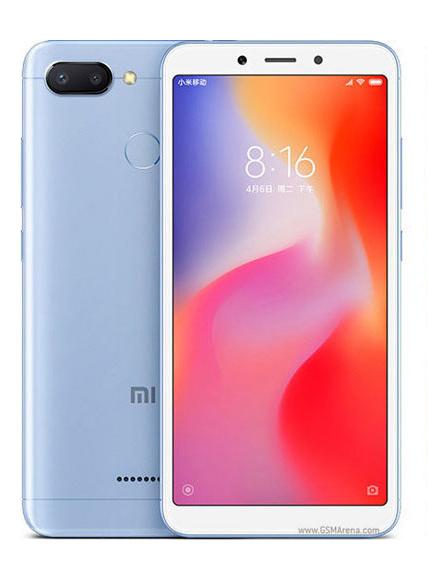 Xiaomi Redmi 6 64GB Dual Blue (Ελληνικό Μενού - Global Version) (Δώρο Tempered Glass + Θήκη) Πληρωμή έως 24 δόσεις