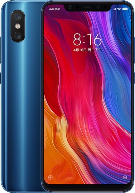 Xiaomi Mi 8 128GB Dual Blue (Ελληνικό Μενού - Global Version) (Δώρο Tempered Glass + Θήκη) Πληρωμή έως 24 δόσεις