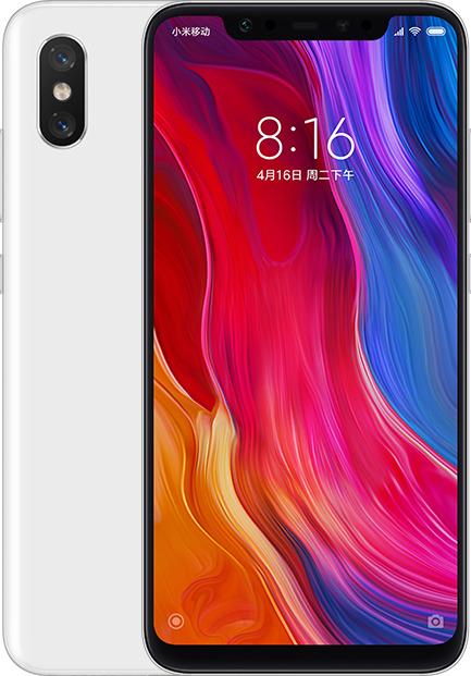 Xiaomi Mi 8 128GB Dual White (Ελληνικό Μενού, Global Version) (Δώρο Tempered Glass, Περιλαμβάνει Θήκη) Πληρωμή έως 24 δόσεις
