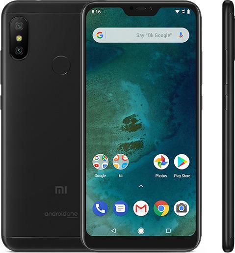 Xiaomi Mi A2 Lite 64GB Dual Black (Ελληνικό Μενού - Global Version) (Δώρο Tempered Glass, Περιλαμβάνει Θήκη) Πληρωμή έως 24 δόσεις