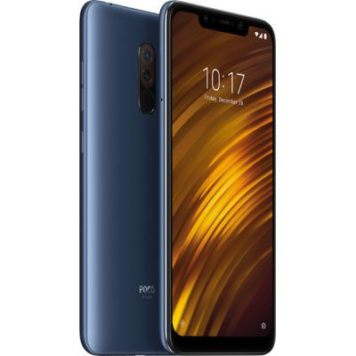 Xiaomi Pocophone F1 128GB Dual Steel Blue (Ελληνικό Μενού - Global Version) (Δώρο Tempered Glass, Περιλαμβάνει Θήκη) Πληρωμή έως 24 δόσεις