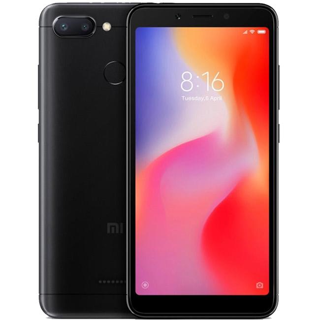 Xiaomi Redmi 6 64GB Dual Black (Ελληνικό Μενού - Global Version) (Δώρο Tempered Glass + Θήκη) Πληρωμή έως 24 δόσεις