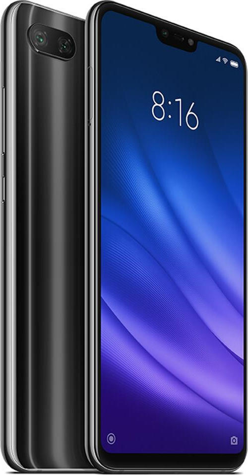 Xiaomi Mi 8 Lite 64GB Dual Black (Ελληνικό Μενού - Global Version) (Δώρο Tempered Glass, Περιλαμβάνει Θήκη) Πληρωμή έως 24 δόσεις