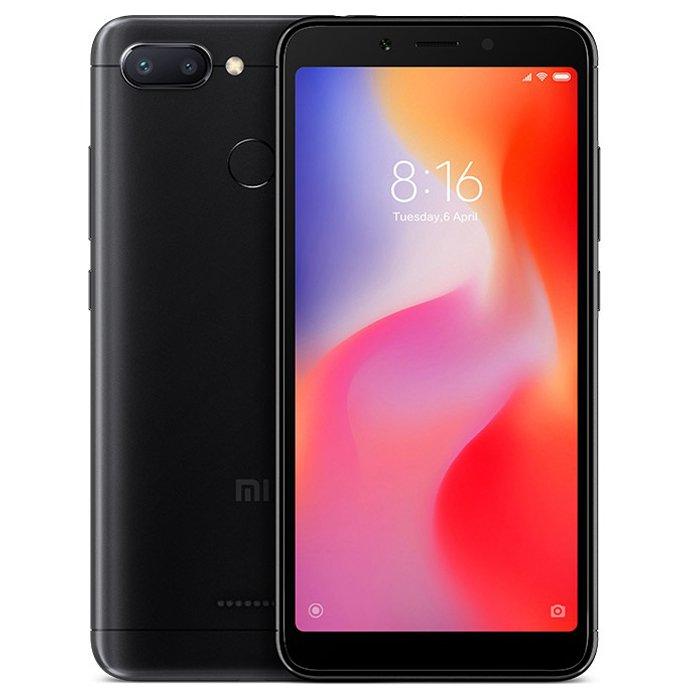 Xiaomi Redmi 6 32GB Dual Black (Ελληνικό Μενού - Global Version) (Δώρο Tempered Glass + Θήκη) Πληρωμή έως 24 δόσεις