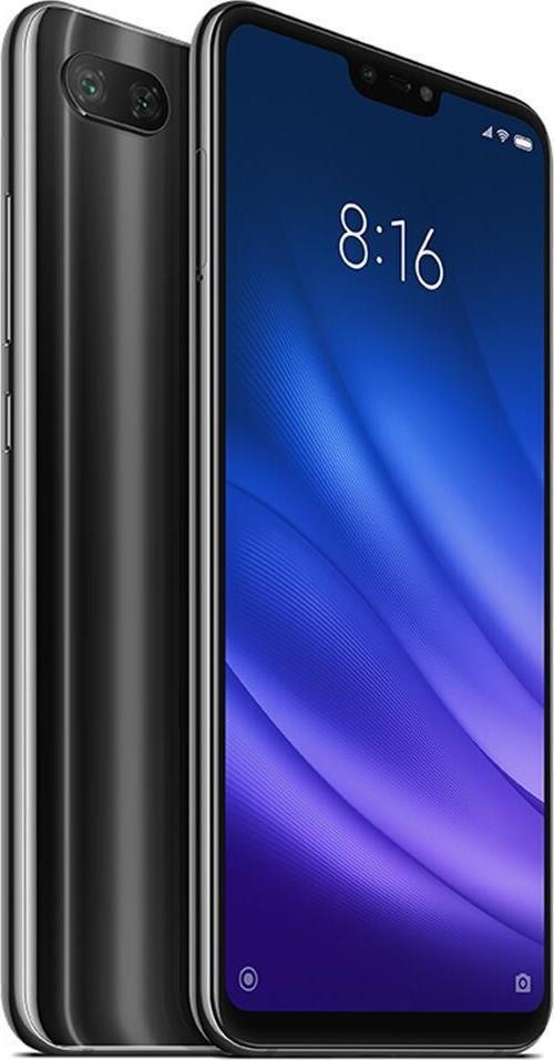 Xiaomi Mi 8 Lite 128GB Dual Black (Ελληνικό Μενού - Global Version) (Δώρο Tempered Glass, Περιλαμβάνει Θήκη) Πληρωμή έως 24 δόσεις