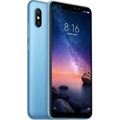Xiaomi Redmi Note 6 Pro 32GB Dual Blue (Ελληνικό Μενού - Global Version) (Δώρο Tempered Glass, Περιλαμβάνει Θήκη) Πληρωμή έως 24 δόσεις
