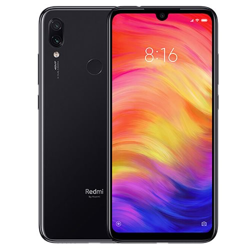 Xiaomi Redmi Note 7 64GB Dual Black (Ελληνικό Μενού - Global Version) (Δώρο Tempered Glass, Περιλαμβάνει Θήκη) Πληρωμή έως 24 δόσεις