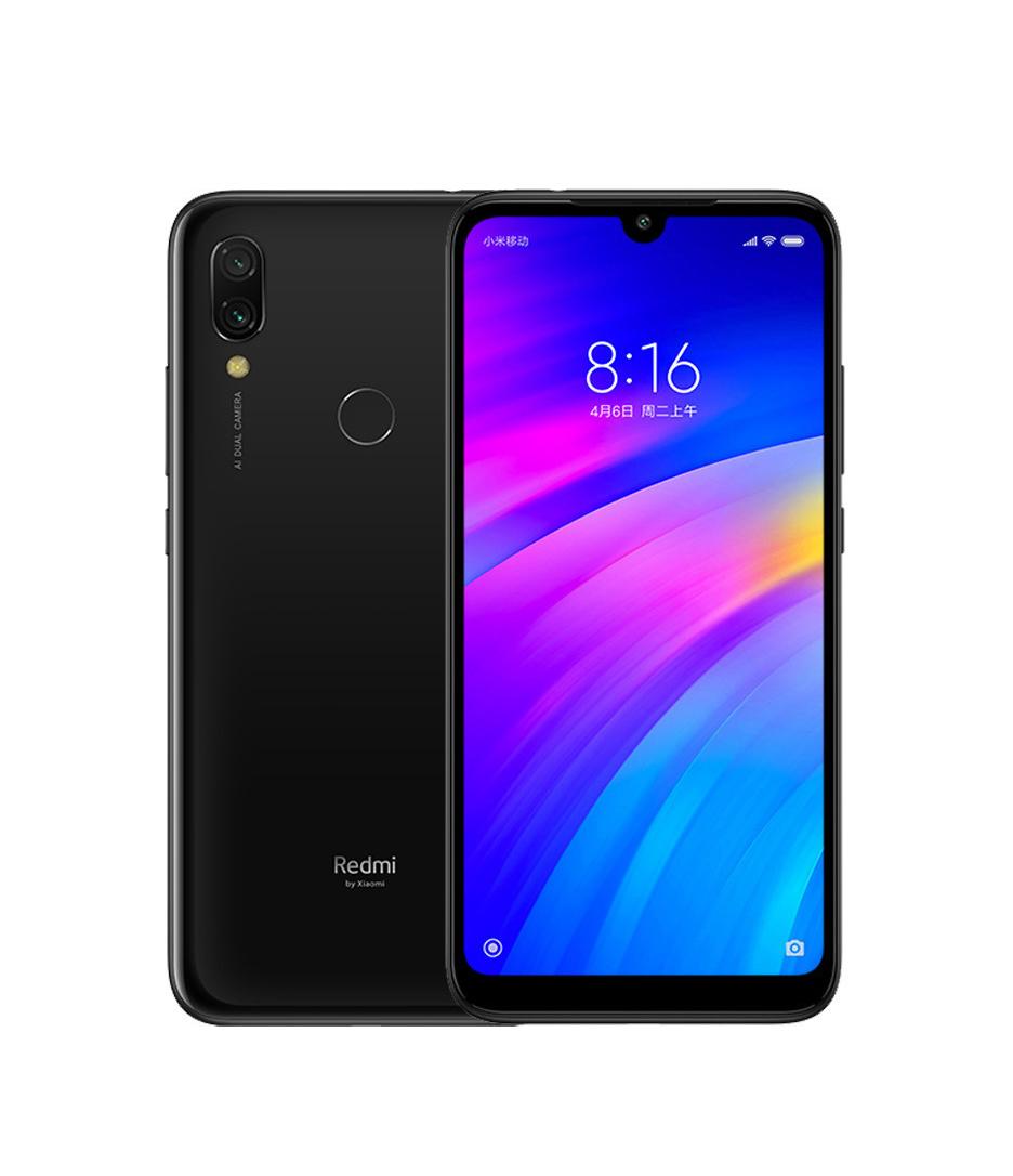 Xiaomi Redmi 7 64GB Dual Black (Ελληνικό Μενού - Global Version) (Δώρο Tempered Glass, Περιλαμβάνει Θήκη) Πληρωμή έως 24 δόσεις