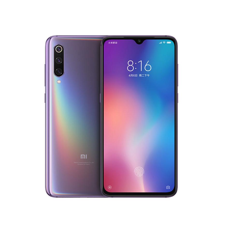 Xiaomi Mi 9 64GB Dual Lavender Violet (Ελληνικό Μενού - Global Version) (Δώρο Tempered Glass, Περιλαμβάνει Θήκη) Πληρωμή έως 24 δόσεις