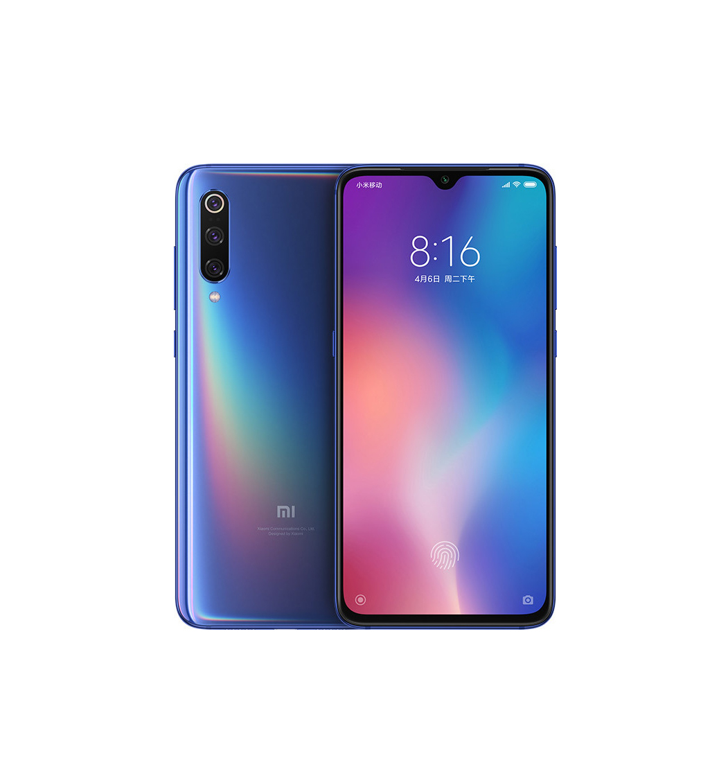 Xiaomi Mi 9 64GB Dual Ocean Blue (Ελληνικό Μενού - Global Version) (Δώρο Tempered Glass, Περιλαμβάνει Θήκη) Πληρωμή έως 24 δόσεις