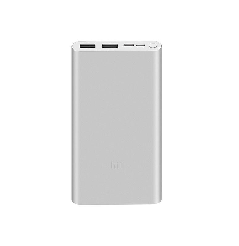 Xiaomi Mi Power Bank 3 10000mAh 18W Fast Charger Silver VXN4273GL