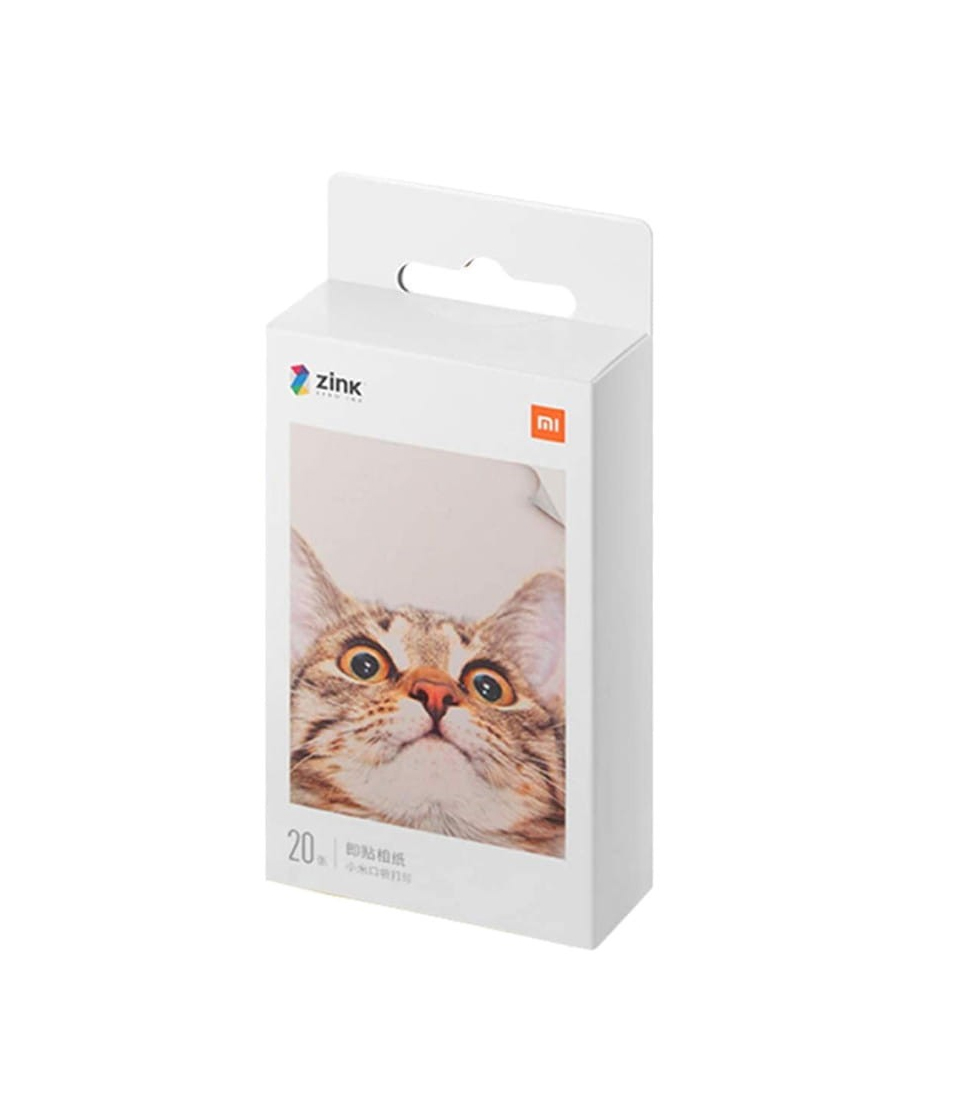 Xiaomi Mi Portable Photo Printer Photo Paper  20 pcs  2x3 Inch