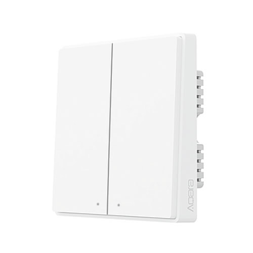 Xiaomi Aqara Wall Switch Double Button D1 QBKG24LM (2 χρόνια εγγύηση)