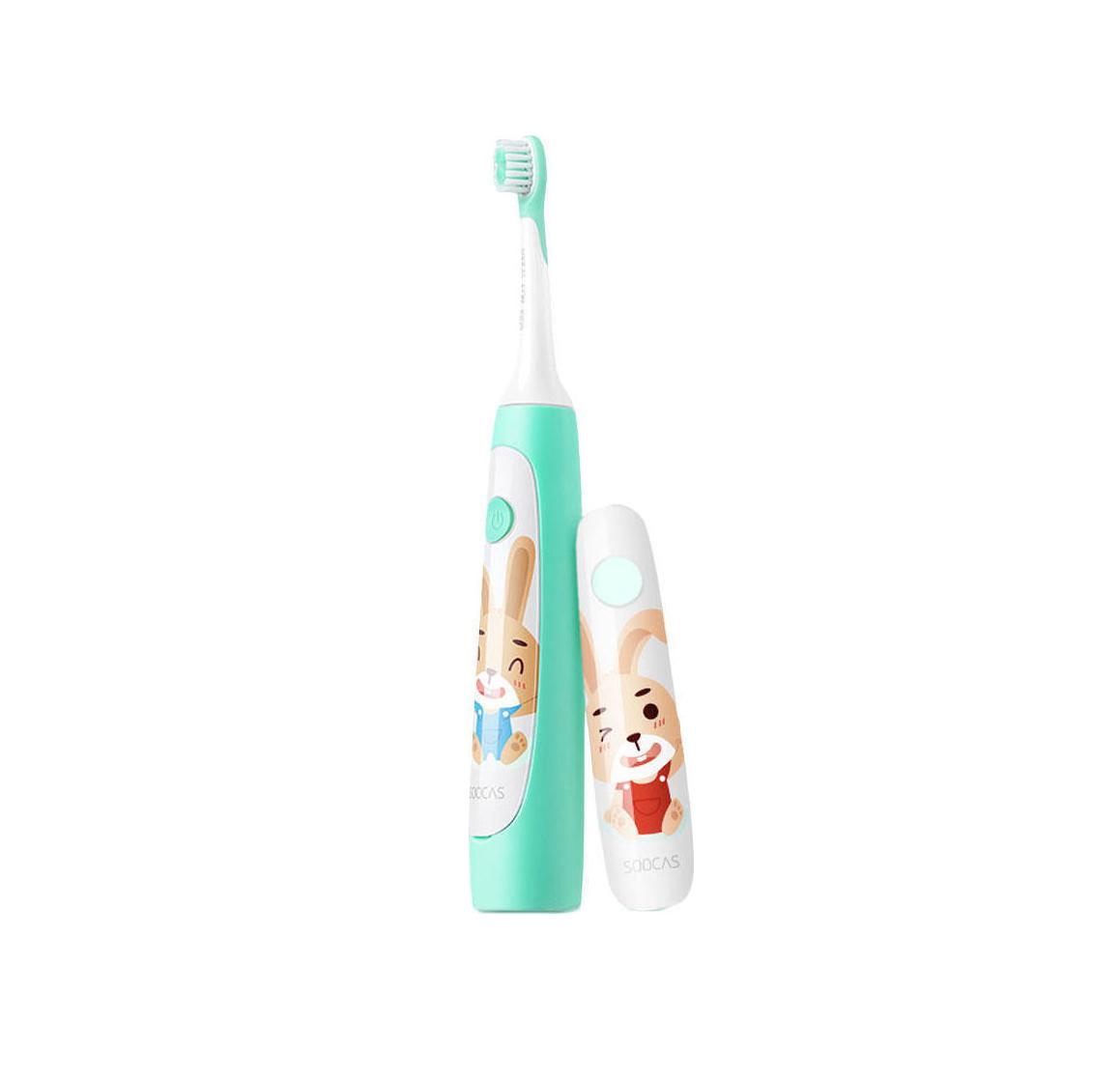 Soocas Sonic Electronic Toothbrush C1 for Kids Green Ηλεκτρική Οδοντόβουρτσα (2 χρόνια εγγύηση)